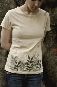 Beautiful  reverse applique t-shirt. There is no way I could justify $75 for a single t-shirt.