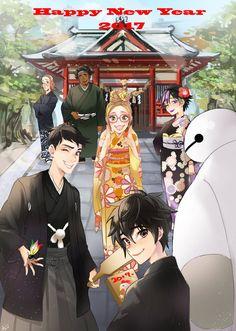 big hero 6 y Cartoon As Anime, Manga Anime, Cartoon Movies, Cartoon Shows, Big Hero 6 Tadashi, Hiro Big Hero 6, Big Hero 6 Baymax, Disney Fan Art, Disney Love