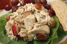 Autumn Chicken Salad is an easy throw-together chicken salad with a hint of autumn flavor. It serves as a main course that's just as good for lunch, dinner or anytime.
