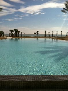 Sneak peak photo of our new adult infinity Serenity Pool overlooking the Atlantic Ocean! Opening our Omni Amelia Island Plantation Re-Imagination on March 5th!.