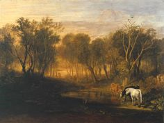 Joseph Mallord William Turner, 'The Forest of Bere' exhibited 1808