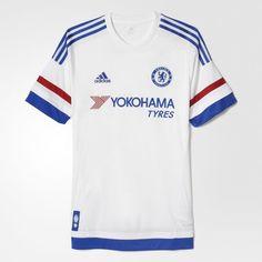 Camisa Chelsea 2 - Branco adidas  340b6b4ca