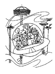 Free Printable Jetsons Coloring Pages For Kids Color This Online Pictures And Sheets A Book Of