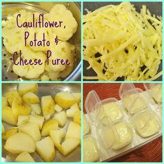 Baby Food Recipe : Cauliflower, Potato & Cheese Puree