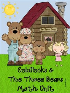 This 33 page themed Goldilocks and the 3 Bear is a super fun unit with great thinking activities. Math components:Ordering by Size (with pupp...
