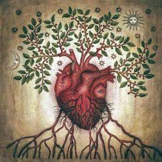"""Podrás oír cientos de palabras, consejos, leer miles de libros de auto ayuda, pero sólo serán ciertas cuando las filtres por el tamiz de tu corazón, cuando veas y hagas a partir de Él, cuando las pongas en acción, cuando lo intentes. Así se practica la Espiritualidad, aunque te equivoques.  #natalialewitan  *Imagen: """"Cardiology"""" Daniel Martín Diaz"""