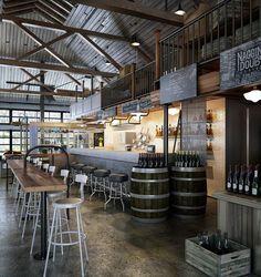 Western Cafe Bar Design on Behance