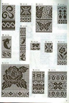 жаккард free knit chart pattern fair isle: