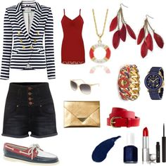 Nautical Nonsense, created by xtamm on Polyvore