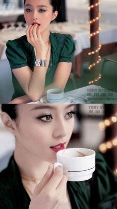 fan bing bing make up もっと見る Photoshoot Inspiration, Makeup Inspiration, My Beauty, Asian Beauty, Li Bingbing, Beauty Vitamins, Hazel Eyes, Chinese Actress, Pop Singers