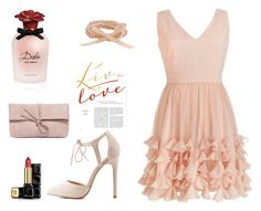 """""""romantico"""" by luziagalvang on Polyvore featuring moda, Charlotte Russe, Dolce&Gabbana, Guerlain y LULUS"""