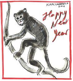 Este desenho foi feito pra comemorar o Ano Novo Chinês. A caixa de materiais de desenho também foi inspirada no país, baseada em um baú de casamento tradicional