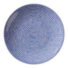 Iittala Arabia of Finland 24H Avec Plate 26cm Blue Design Heikki Orvola New | eBay