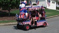 photos of 4th of july decorated golf carts - Yahoo Search Results