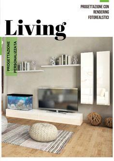 Progettazione con rendering foto realistici Living - Soggiorni