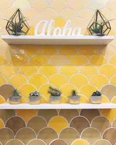 Our Moroccan fish scale tiles are inspired by the glistening movement of the sea. Create an ocean oasis in any living space with our Moroccan mosaic tile. Large Floor Tiles, Shower Floor Tile, Beach Hut Decor, Mermaid Tile, Fish Scale Tile, Deco Stickers, Mosaic Tiles, Mosaics, Yellow Tile