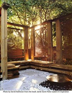 Another idea for privacy/shade screens and seating Rock Solid Landscape Design - 519.861.7910: Weekly Feature, Jamie Durie