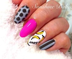 Funky!... (Not sure bout the 'nanner nail, though..?)