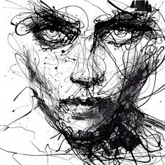 IN TROUBLE, SHE WILL – AGNES CECILE - Black and white art prints have a way of invoking emotions that colored prints can't do and this print by Agnes Cecile is no exception. Cecile is known for creating simple images using abstract lines. The result is breathtaking. For the original, Cecile used varnish and charcoal on canvas to give it extra dimension and depth. You can get this fine art print for $50 on eyesonwalls.com.