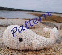 Woolie Whale Crochet Pattern -PDF-. $4.00, via Etsy.