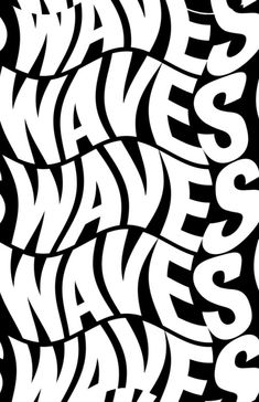 Waves – Graffiti World Typography Letters, Typography Poster, Lettering, Graphic Design Posters, Graphic Design Typography, Type Posters, Typography Inspiration, Graphic Design Inspiration, White Aesthetic