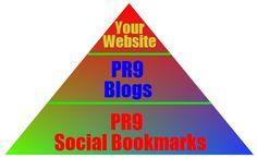 manually create a PR9 Link Pyramid for $9 - SEOClerks #UK #SEO #WhiteHatSEO