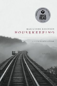 """A modern classic, Housekeeping is the story of Ruth and her younger sister, Lucille, who grow up haphazardly, first under the care of their competent grandmother, then of two comically bumbling great-aunts, and finally of Sylvie, their eccentric and remote aunt...Ruth and Lucille's struggle toward adulthood beautifully illuminates the price of loss and survival, and the dangerous and deep undertow of transience."""
