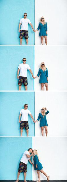 love this beach engagement series - stephanie ann photography