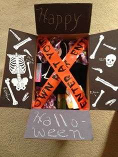 Halloween care package                                                                                                                                                                                 More