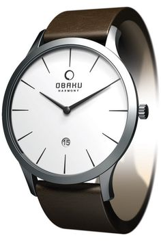 Obaku Harmony Men V112GCIRN | EVOSY | The Premier Destination for Watches and Accessories