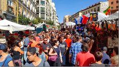 Todo lo que quieres saber sobre el mercadillo de El Rastro en Madrid http://www.inmigrantesenmadrid.com/2016/09/mercadillo-de-el-rastro-en-madrid/