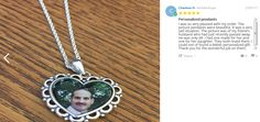 I was so very pleased with my order. The picture pendants were beautiful.