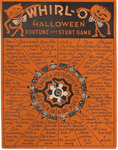 Free Vintage Whirl -O- Halloween Game andImages!
