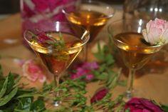 nalewka różana z cytryną