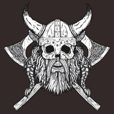 viking skull - Recherche Google