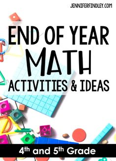 End of the year activities and ideas for math! The end of the year doesn't have to be difficult. Try these engaging end of year math activities to keep your and graders engaged and learning until the end. Several freebies on this post. End Of Year Activities, Kindergarten Activities, Teaching Math, Maths, Teaching Resources, Teaching Ideas, Elementary Math, Upper Elementary, Lincoln