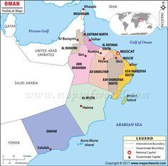 Mapa de Marruecos Marrakech Morocco and Africa