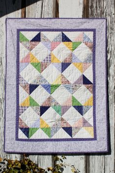 This will be the next baby quilt I make.Oh, not only for baby....also nice springcolours, not?Ph