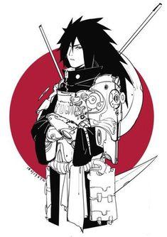 Some more of SYG's Cyberpunk AU designs, reposted with permission. Naruto Kakashi, Anime Naruto, Fan Art Naruto, 5 Anime, Naruto Shippuden Anime, Naruto Sharingan, Boruto, Naruto Sketch, Naruto Drawings