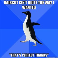 I will stop pinning Socially Awkward Penguin when it stops applying to me.