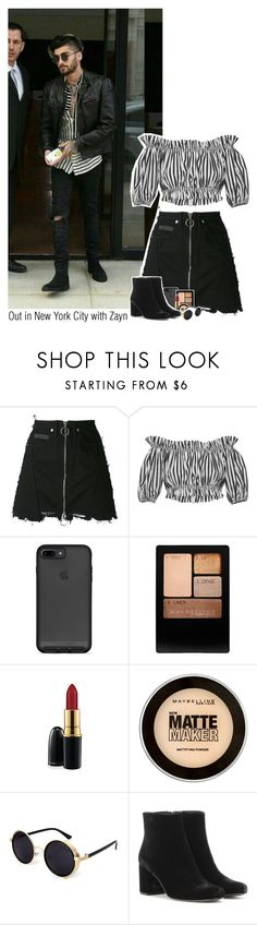 """""""Out in New York City with Zayn"""" by sixsensestyles ❤ liked on Polyvore featuring County Of Milan, Dolce&Gabbana, MAC Cosmetics, Maybelline and Yves Saint Laurent"""