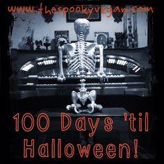 The Spooky Vegan: Only 100 Days 'til Halloween!