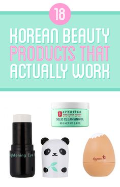"18 Korean Beauty Products That Actually Work - ""We asked members of BuzzFeed Community about Korean beauty products they've tried that have actually worked. Here's what they had to say!"""