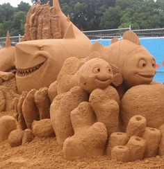 Nemo.  Check out this site.  More great sand sculptures.