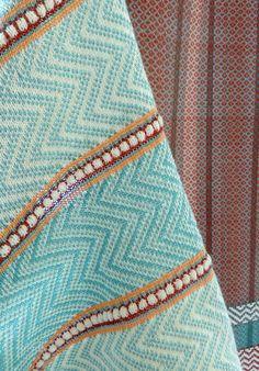 Loughborough Textiles Graduates | Flair | Poppy Petersen Weaving Textiles, Textile Fabrics, Weaving Patterns, Textile Patterns, Textile Design, Loom Weaving, Hand Weaving, Knitwear Fashion, Weaving Techniques