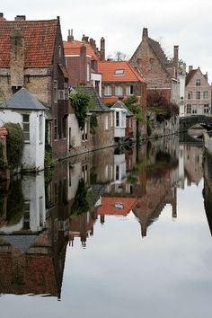 Brugge, Belgium, one of my favorite cities to visit. I want to live there someday.