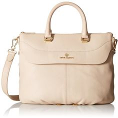 Vince Camuto Dean Top-Handle Bag ($211) ❤ liked on Polyvore featuring bags, handbags, pink leather satchel, satchel handbags, leather handbags, satchel purse and leather satchel purse