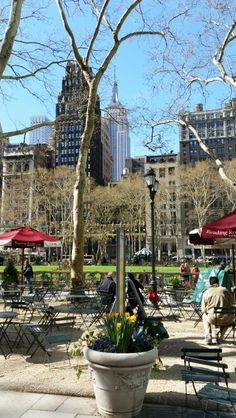 Spring in Bryant Park