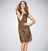 Leopard Print Dress: Sale $12.99
