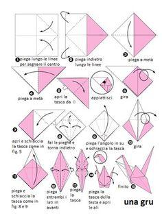 origami - la gru
